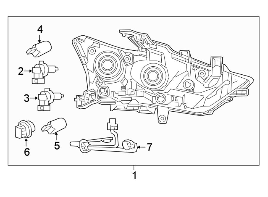 Nissan Maxima Headlight Wiring Harness  2016 O Led