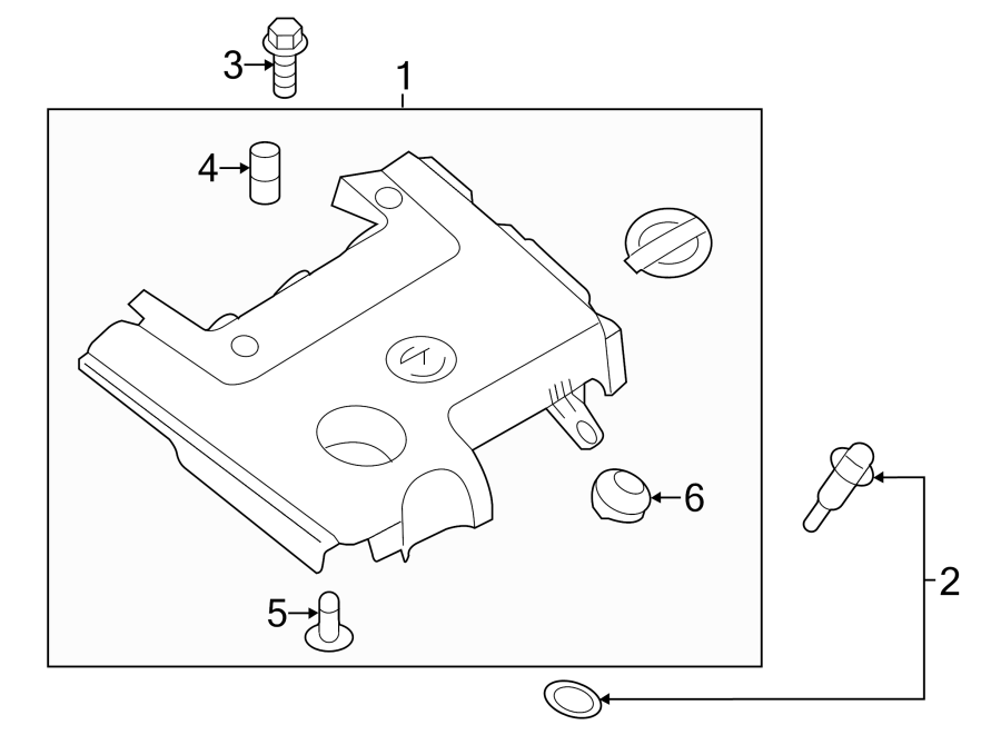 Nissan Quest Engine Cover  Transaxle  Appearance