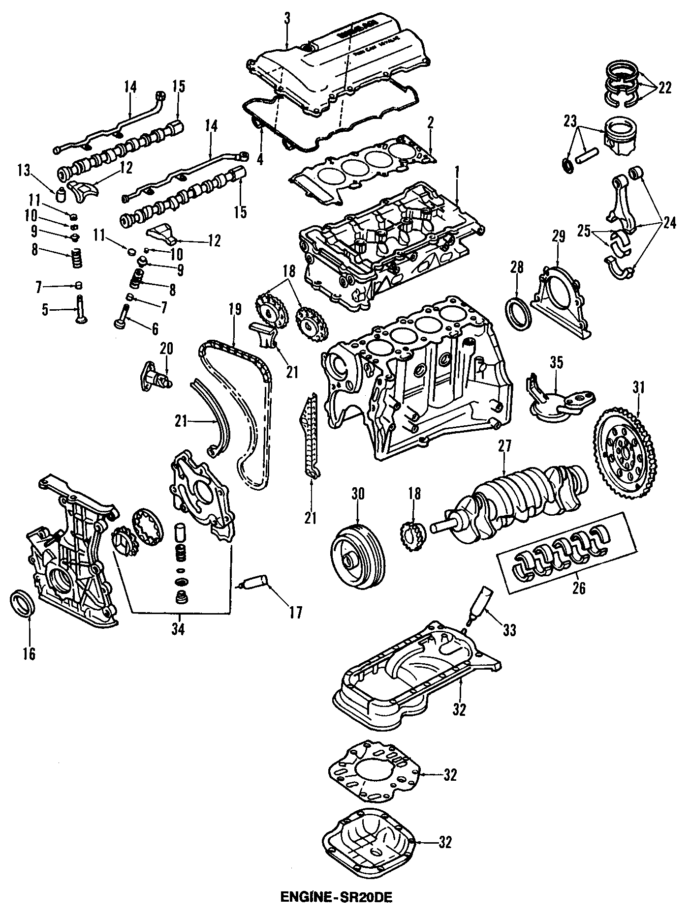 Nissan Sentra Engine Crankshaft Seal  Nok  Ndk  Liter