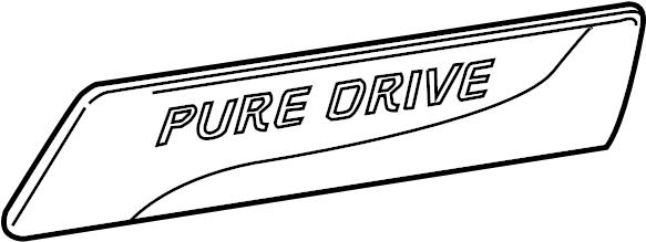 Nissan Versa Note Emblem  Pure Drive  Nismo  Nismo Rs  Pure Drive