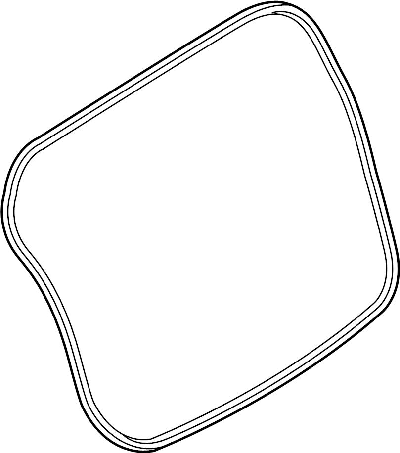 Nissan Versa Note Hatch Seal  Gate