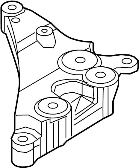 Nissan Altima Engine Mount Bracket  2 0 Liter Turbo